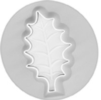 Embossing Cutters - Veined Holly Leaf