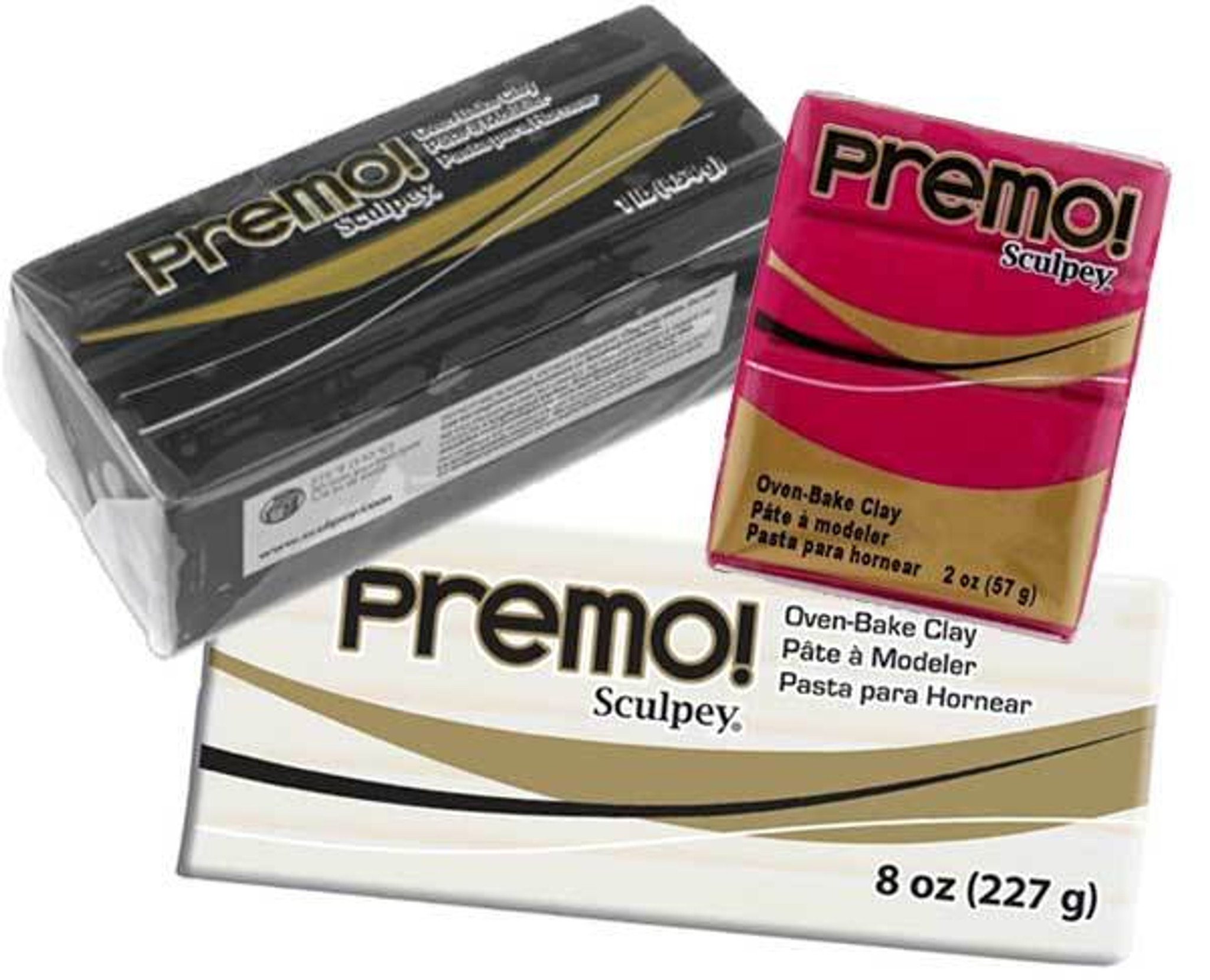 Premo! 8 oz and 1 lb  Bars