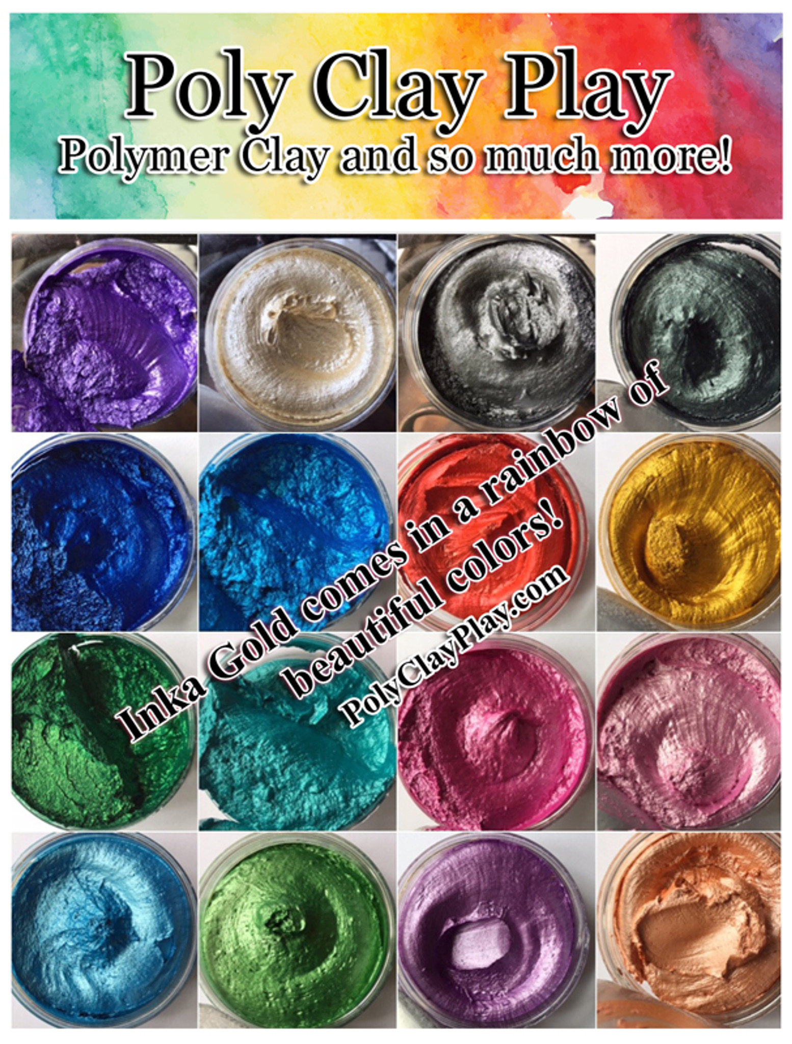Inka Gold Sample Towers Poly Clay Play
