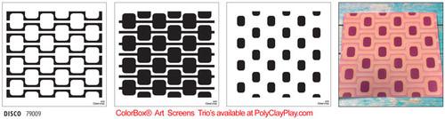 ColorBox® Art Screens Trio - Disco