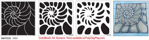 ColorBox® Art Screens Trio - Nautilus
