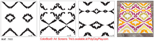 ColorBox® Art Screens Trio - IKAT