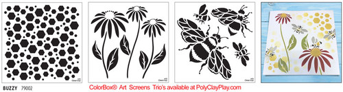 ColorBox® Art Screens Trio - Buzzy
