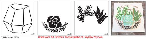 ColorBox® Art Screens Trio - Terrarium