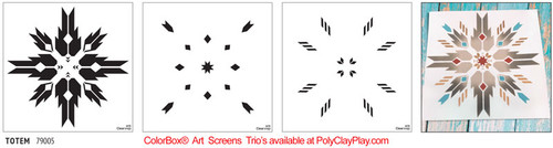 ColorBox® Art Screens Trio - Totem