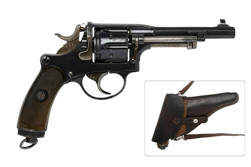 W+F BERN 1882 Revolver - sn 18xxx