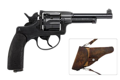 W+F BERN 1929 Revolver w/ Holster - sn 60xxx