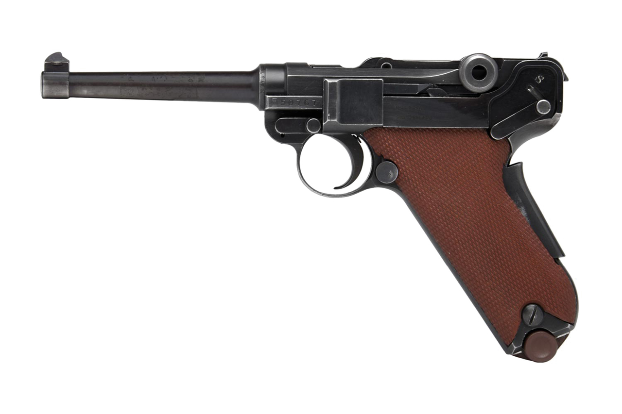 Swiss Luger 06/29 - $1695 (1906/29-50767) - Edelweiss Arms