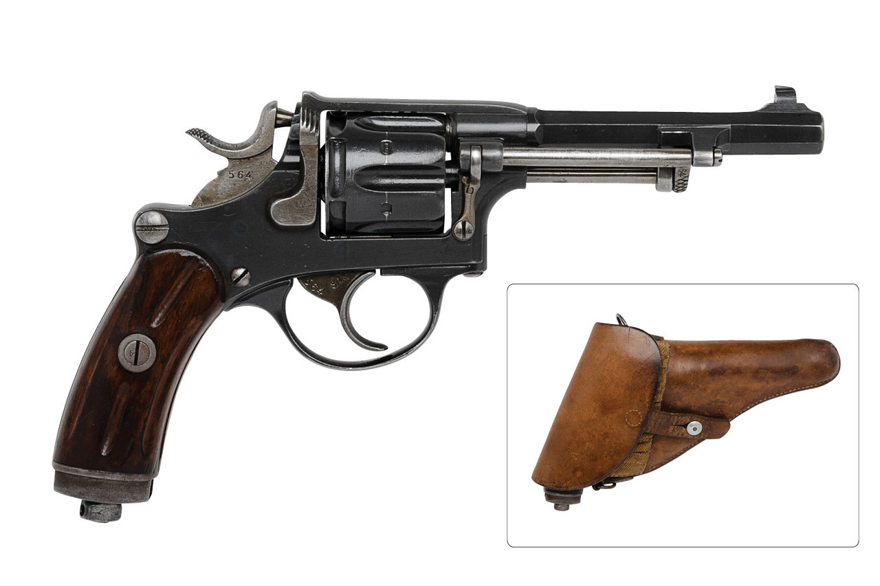 Swiss 1882 Revolver - $725 (PC1882-10564) - Edelweiss Arms