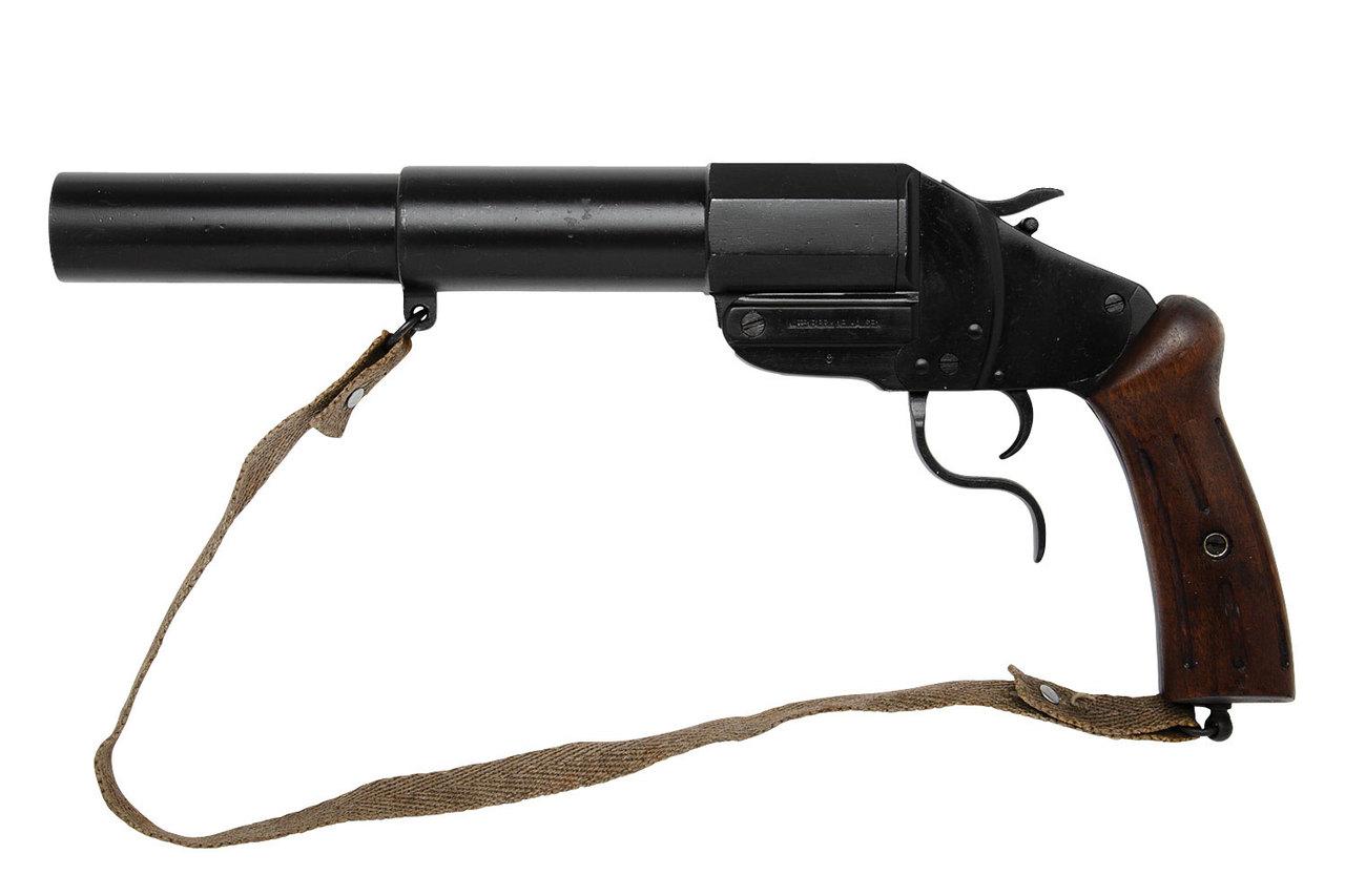 Swiss Military M17/38 Flare Gun - sn 8xx
