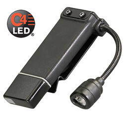 Streamlight ClipMateå¨ USB Rechargeable White and Red LED Clip-On Flashlight 61125