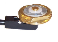 Mobile Radio 0.75 inch Brass Mount with Mini UHF Male MB8UMI by Laird