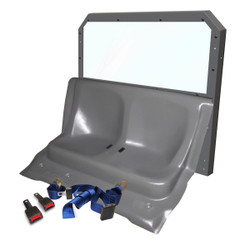 Ford Police Interceptor Utility SUV (Explorer) Rear Plastic Seat and Cargo Barrier by Progard