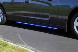 Whelen Tracer Dodge Charger LED Running Board Lights, Pair, 2015+