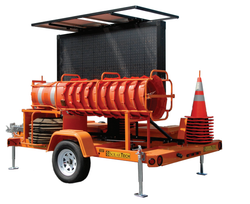 Solar Powered Incident Response Trailer by SolarTech