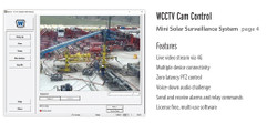 Wanco Portable Video Surveillance Trailer and PTZ Camera System, Solar and AC powered, Software Included, WCTS-MINI
