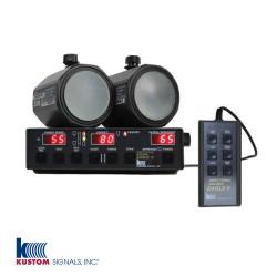Kustom Signals Directional Golden Eagle II Ka-Band DCM, Dash-Mount Police Radar,  single or dual antenna