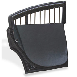 Chevy Impala Police Car Door Panel Molded Covers by Setina, fits over OEM Door Panel, Pair, Kit