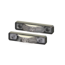 Code-3 M180 Surface/Flush or Intersection Mount, Ground/Puddle Light Light Head, Single Color M180S, 1.5 inches thick