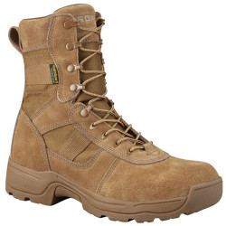 Propper Series 100® 8 inch Waterproof Tactical Boot, Oil and Slip Resistant, Triple Stitch, Coyote/Tan Brown F4519