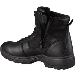 Propper Series 100® 6 inch Side Zip Tactical Boot with zipper guard, Oil and Slip Resistant, Triple Stitch Boot, Black F4506
