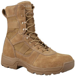 Propper Series 100® 8 inch Tactical boot, Oil and Slip Resistant, Triple stitch, Coyote/Tan Brown F4508