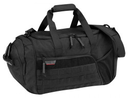 Propper® Tactical Duffel Bag made of 100% nylon, Additional large side pocket gives contained storage for shoes, available in Black, Coyote Brown, Olive Green and MultiCam, F5623