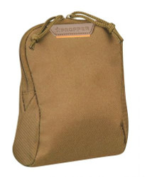 Propper® 7X6 Tactical Media Pouch with MOLLE 100% polyester, available in Black, Coyote Brown and Olive Green, F5649