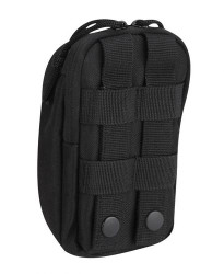 Propper® 7x4 Two Pocket Media Pouch with MOLLE 100% polyester, available in Black, Coyote Brown and Olive Green,  F5648