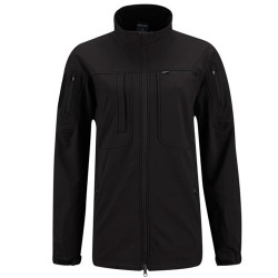 Propper Women's BA® Softshell Tactical Jacket, Two-way zippered front, ID or Badge Panel on left chest, Black F5498