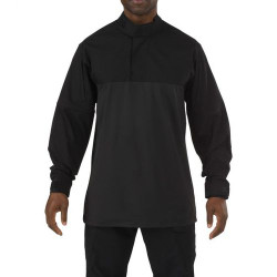 5.11 Tactical MEN'S 5.11 STRYKE® TDU® RAPID LONG SLEEVE SHIRT, 87% polyester / 13% Spandex, Moisture wicking, snag resistant, Badge tab and epaulette kit included, Tall Fit, 72071T