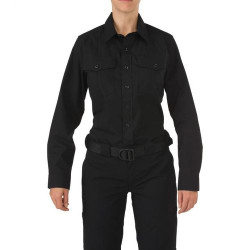 5.11 Tactical WOMEN'S 5.11 STRYKE® PDU® CLASS-A LONG SLEEVE SHIRT, Hidden front zip closure, Pass-through mic access, Includes Badge tab, Camera and radio loop enforcement kit, and Epaulette kit, 62008