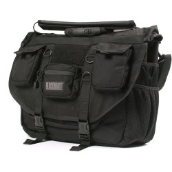 BLACKHAWK ADVANCED TACTICAL BRIEFCASE, Constructed of 1000 denier nylon, Waterproof internal lining, shoulder strap and carry handle, Three external pockets, Five additional internal compartments, 61BC01