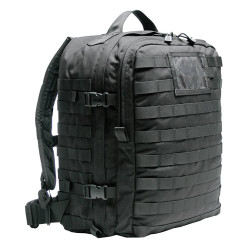 BLACKHAWK SPECIAL OPERATIONS MEDICAL BACKPACK, Constructed of 1000 denier nylon, Robust grab handle, Metal grommet at bottom of pack for drainage, Individual medical gear compartments, 60MP00