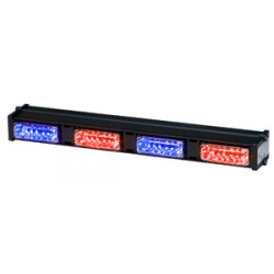Whelen Dominator Plus DP4 LED Light Stick with Four LINZ6s