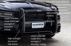 Go Rhino Dodge Charger Push Bumper 2006-2018