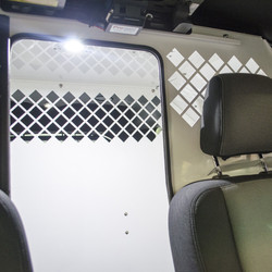 Havis Ford Police Interceptor Utility SUV K9 Dog Transport Kennel System 2013 to 2018