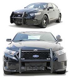 Go Rhino Ford Police Interceptor Sedan Taurus Push Bumper 2013-2018