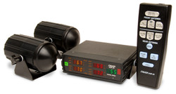 The Stalker 2X is actually two independent radar units operating on a single, 5-window, multi-color display