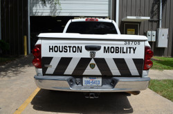 Truck Police Vehicle Graphics Decal Kit FS-17