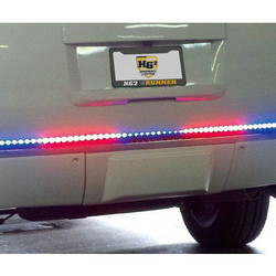 LED Bumper Rear Runner with Blue and Red option