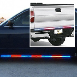 3pc LED Side and Rear Runner SUV Kit Shown with Blue and Red option