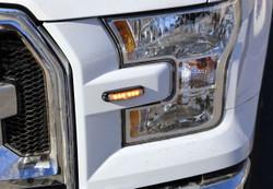 Whelen Micron LED Flush Surface Mount Light Head MCRNS