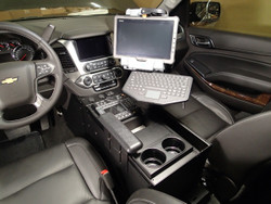 "Tahoe 2015+ Police Console 20"" Wide Body by Havis"