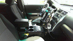 "Havis Ford Police Interceptor Utility SUV Explorer Console 24"" 2013+"