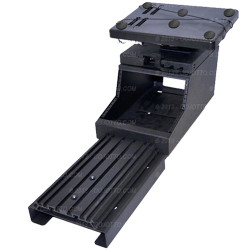 Charger Police Equipment Console and Laptop Mount Workstation AK-7  by Jotto Desk 2011+