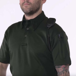 Propper Men's I.C.E.® Tactical Polo, Short Sleeve, 94% polyester / 6% spandex, includes shoulder mic clip, F5341-72