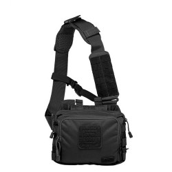5.11 Tactical 2-BANGER BAG, Sturdy, Resilient 500D nylon construction, Carries two fully loaded AR magazines and accessories, Molded zipper grip pulls on main compartment, 56180