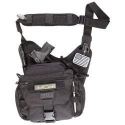 5.11 Tactical PUSH™ PACK, 1050D weather resistant nylon, Dual expanding side pockets, Fully adjustable padded strap, 56037
