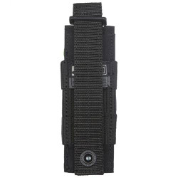 5.11 Tactical PISTOL BUNGEE/COVER, N500D body/ N1050D base, All-weather reliability, Elastic band compression for stability and noise reduction, 56154
